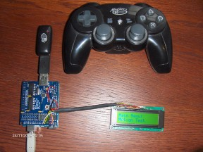 MadCatz wireless controller to USB Host Shield